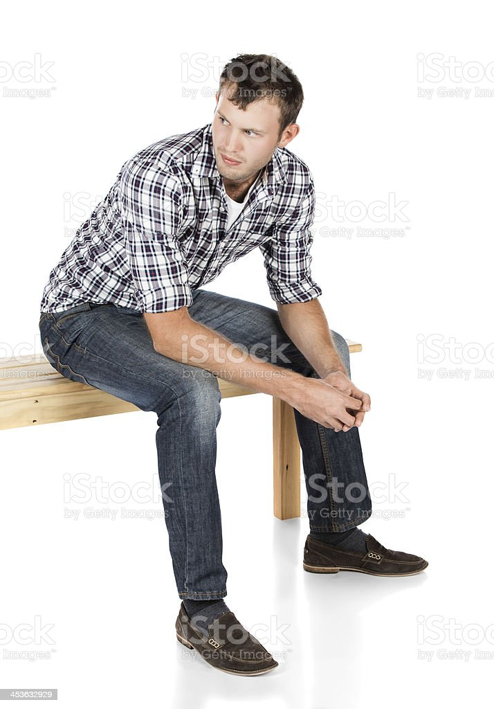 Handsome caucasian man royalty-free stock photo