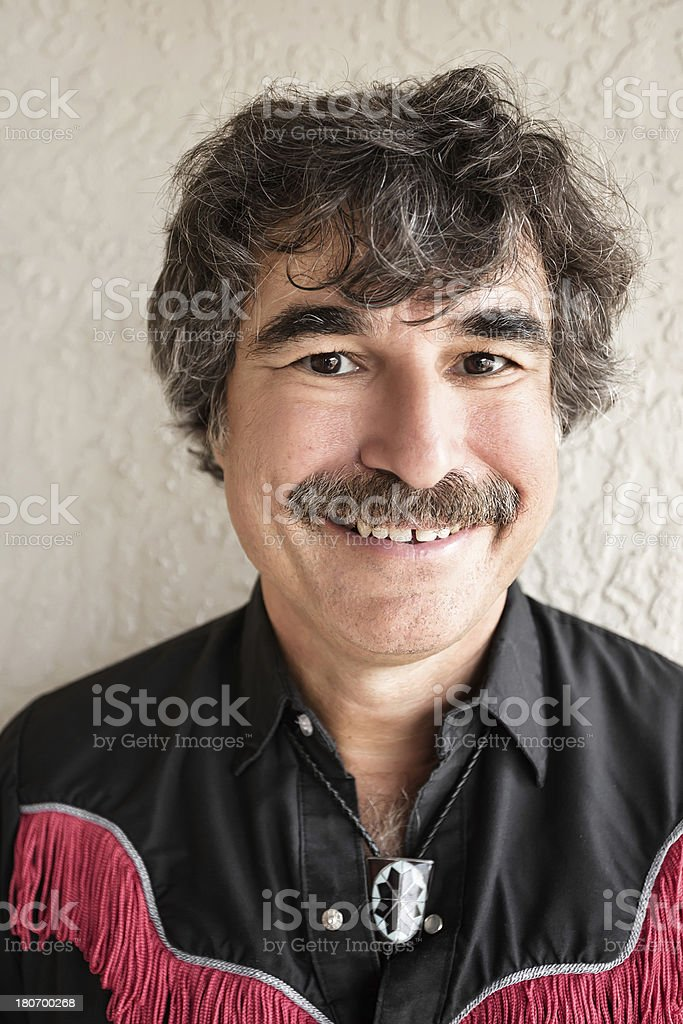 Handsome cowboy royalty-free stock photo