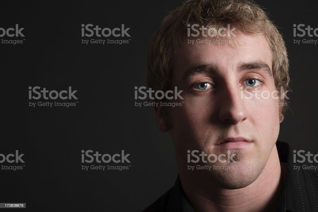 Handsome Face royalty-free stock photo