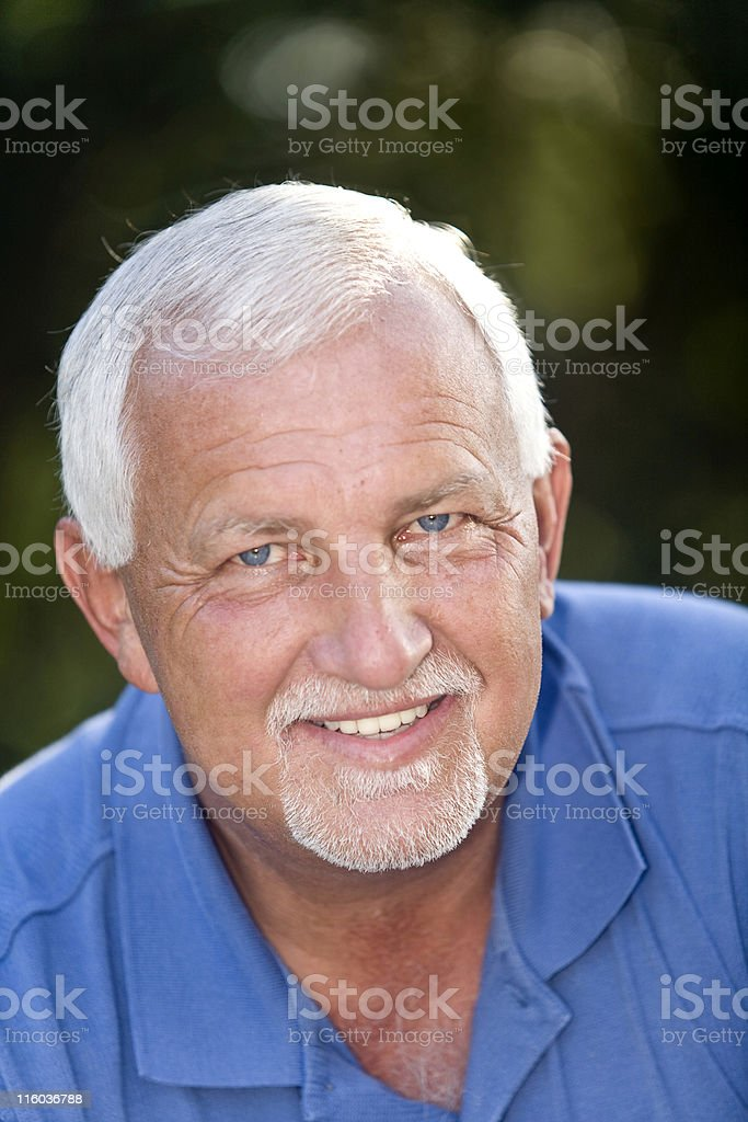 Handsome Gentleman stock photo
