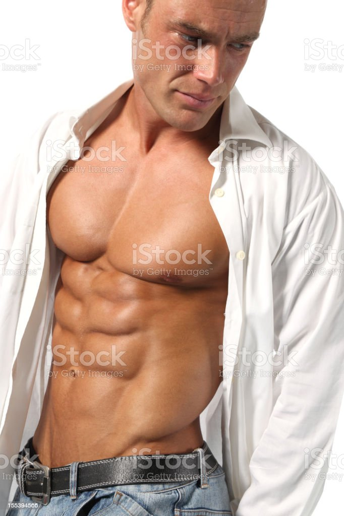 Handsome guy stock photo
