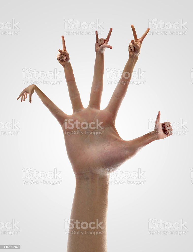 Handsome Hands royalty-free stock photo