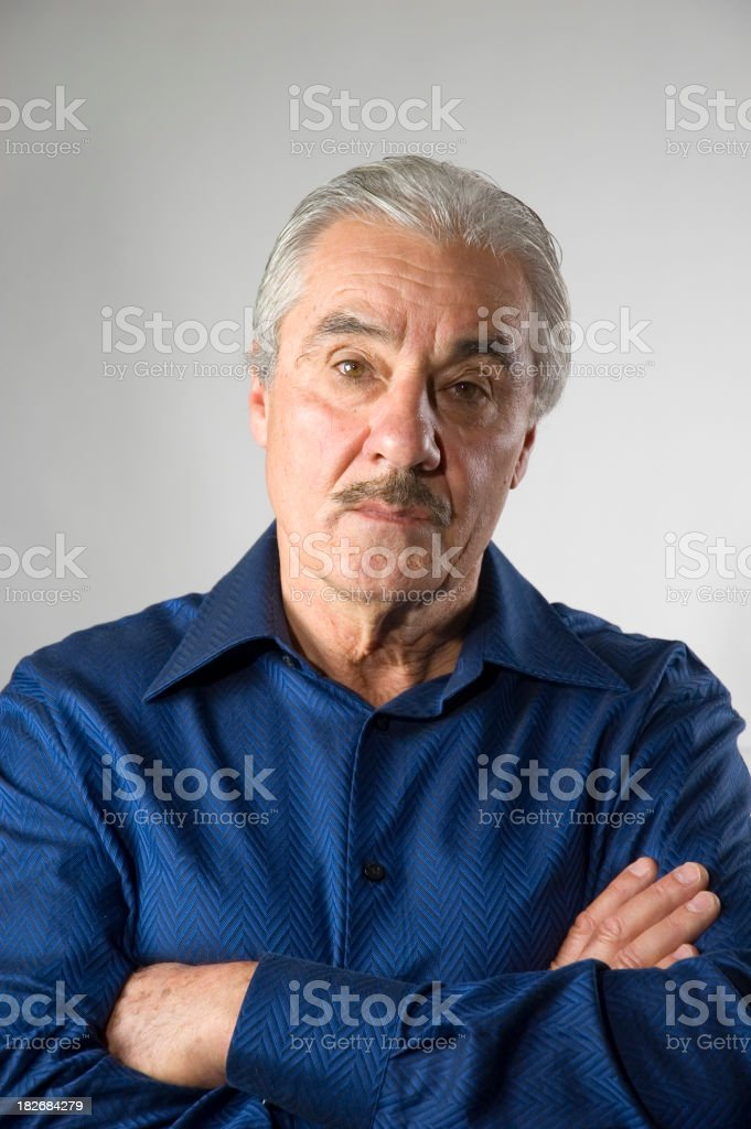 Handsome Italian Man - Serious royalty-free stock photo