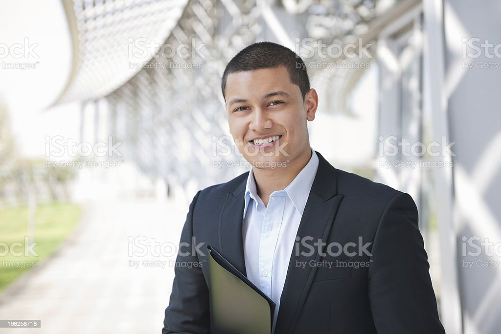 Handsome Male Business Executive stock photo