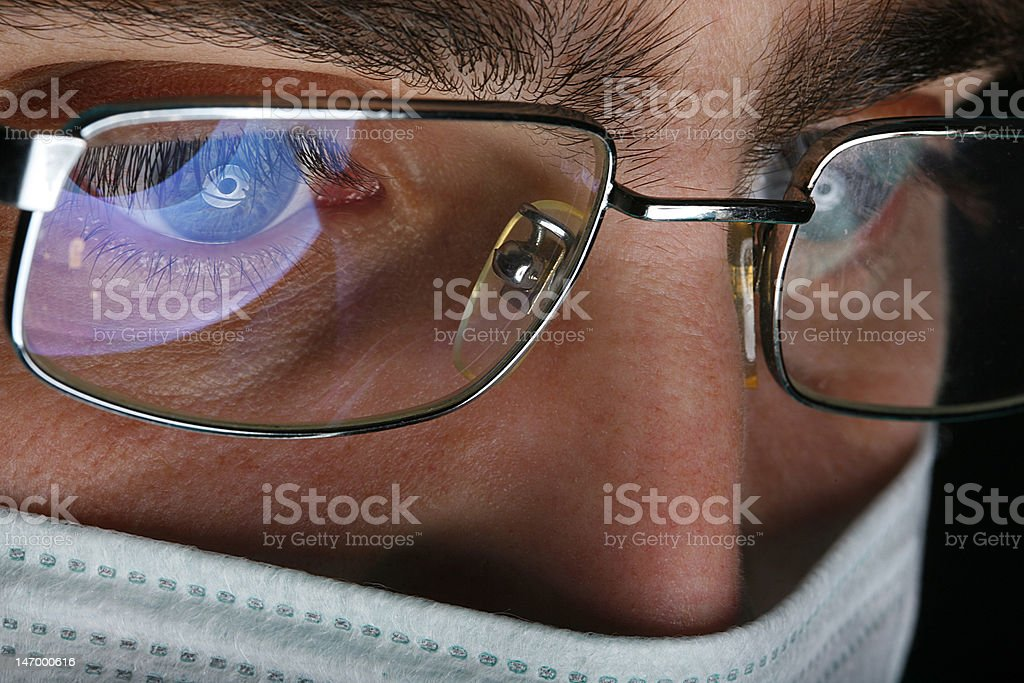 Handsome male doctor royalty-free stock photo