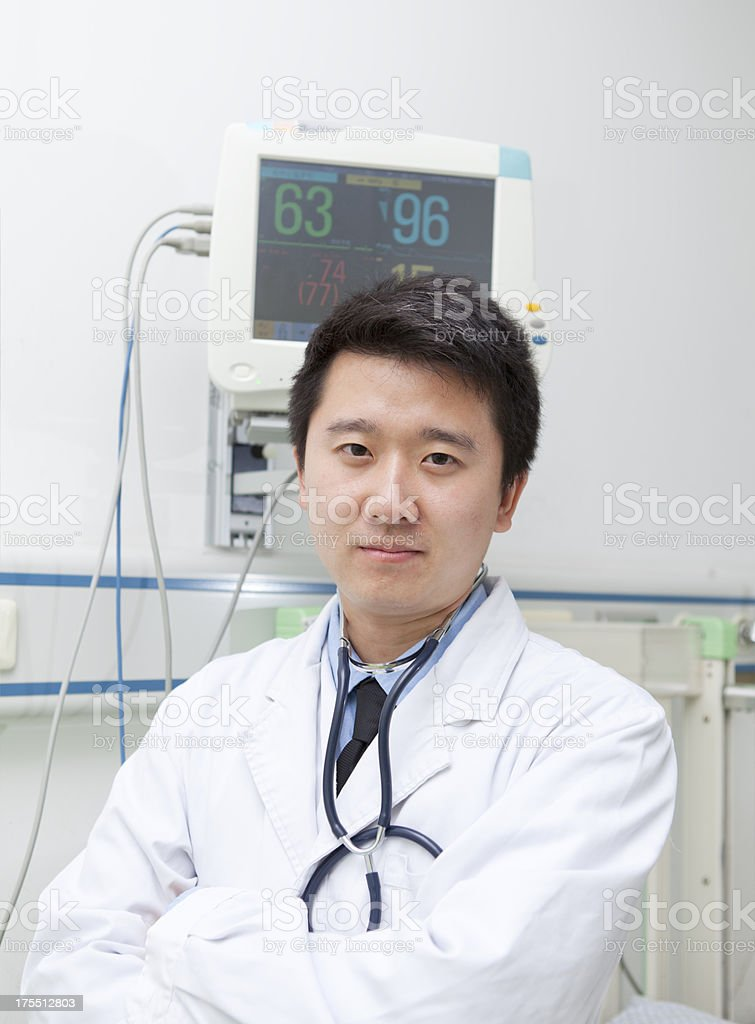 Handsome Male Doctor stock photo