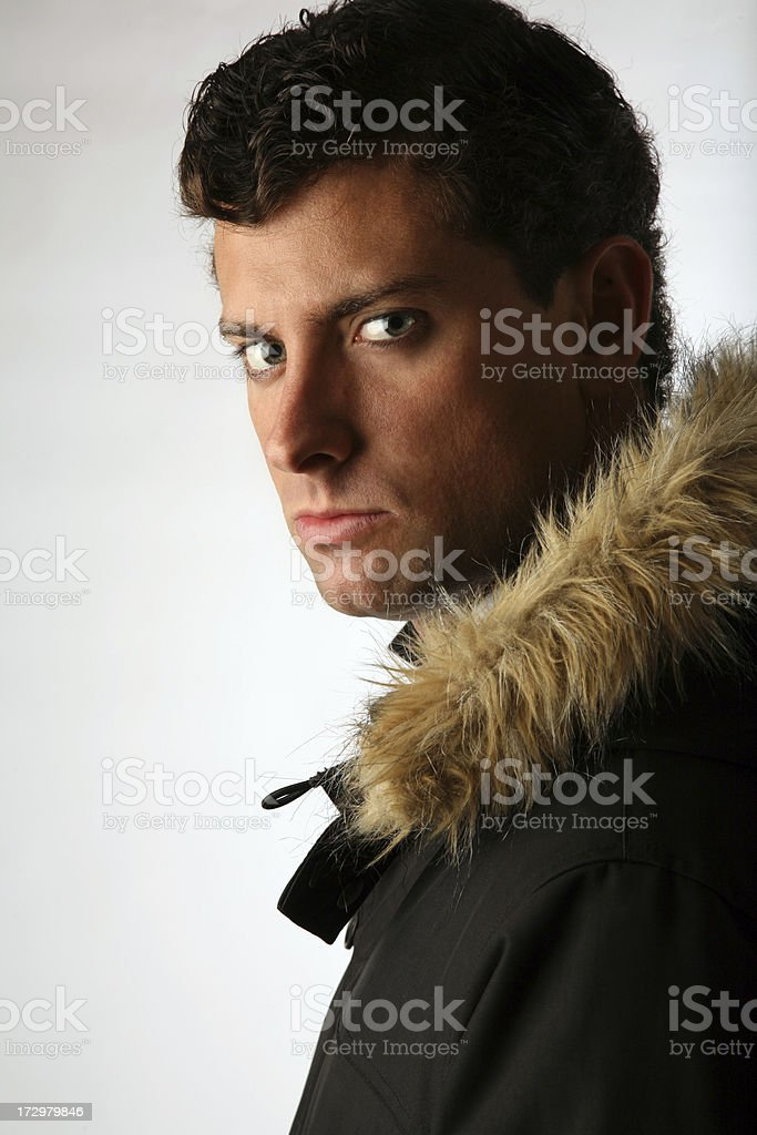 Handsome Male Fashion Model stock photo
