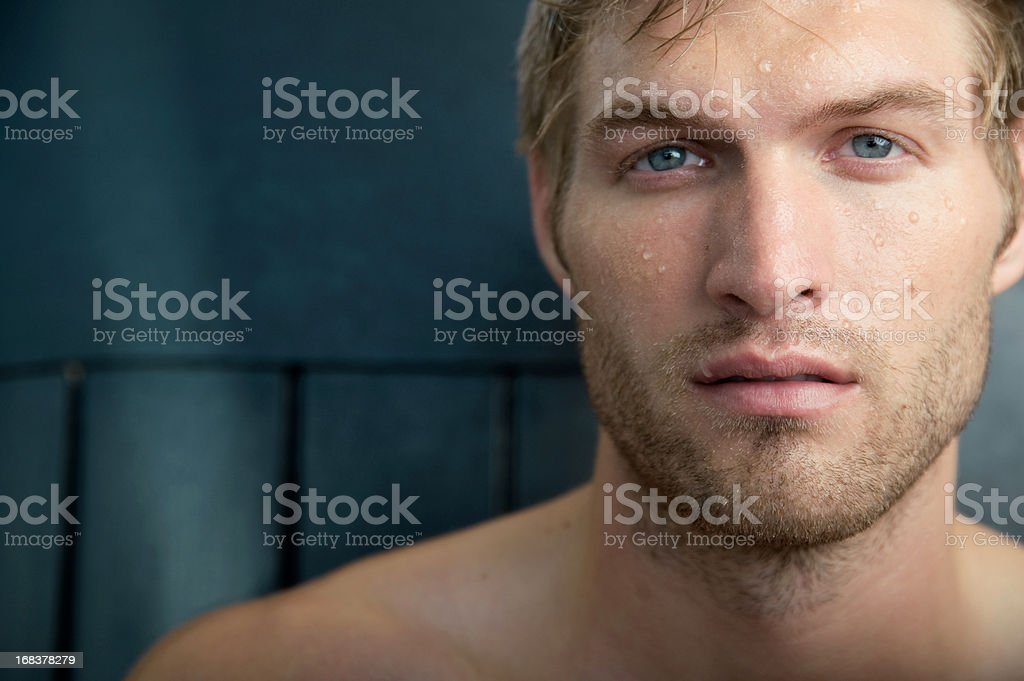 Handsome male stock photo
