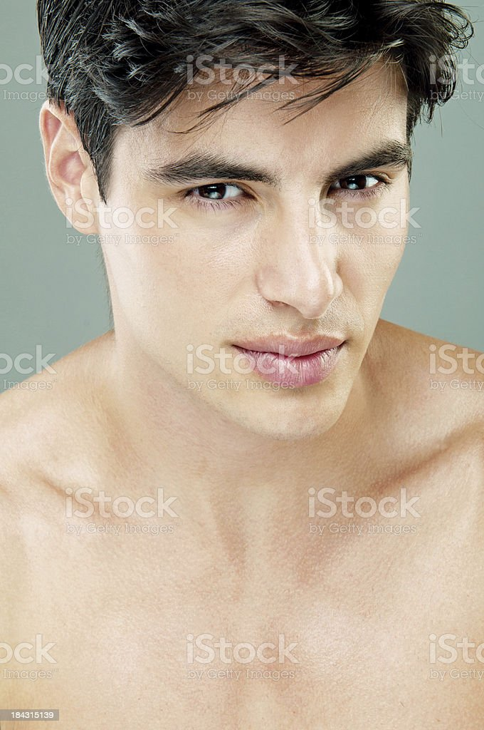 handsome man royalty-free stock photo