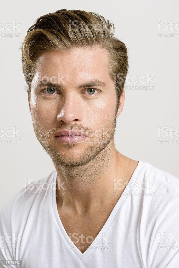 Handsome Man - Portrait stock photo
