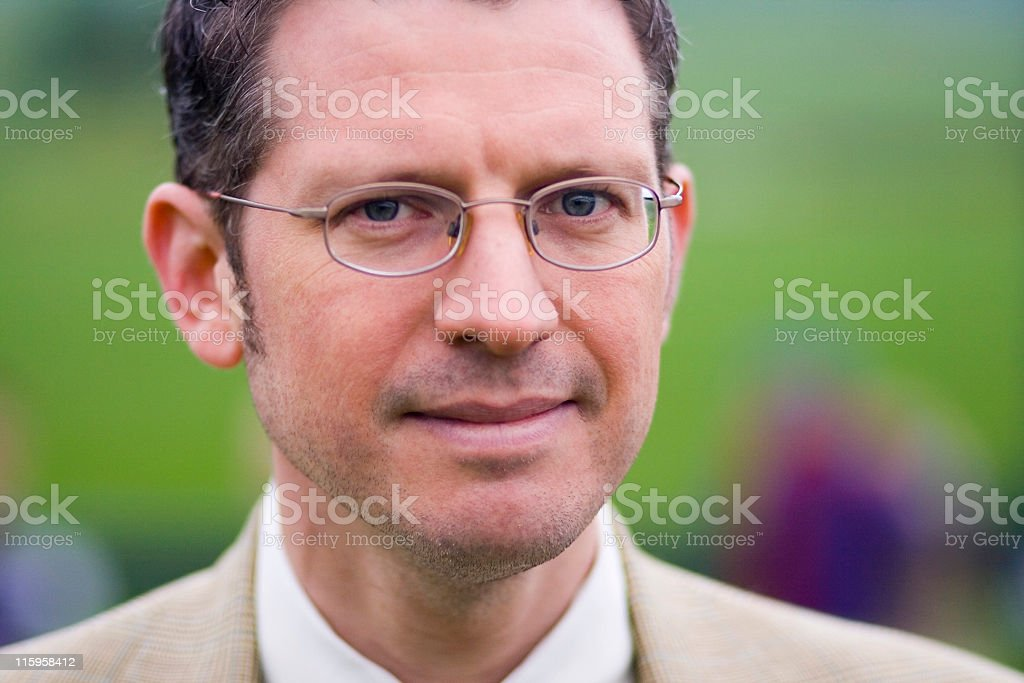 Handsome Mature Executive royalty-free stock photo
