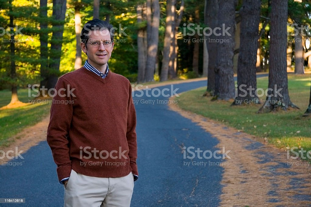 Handsome Mature Man royalty-free stock photo