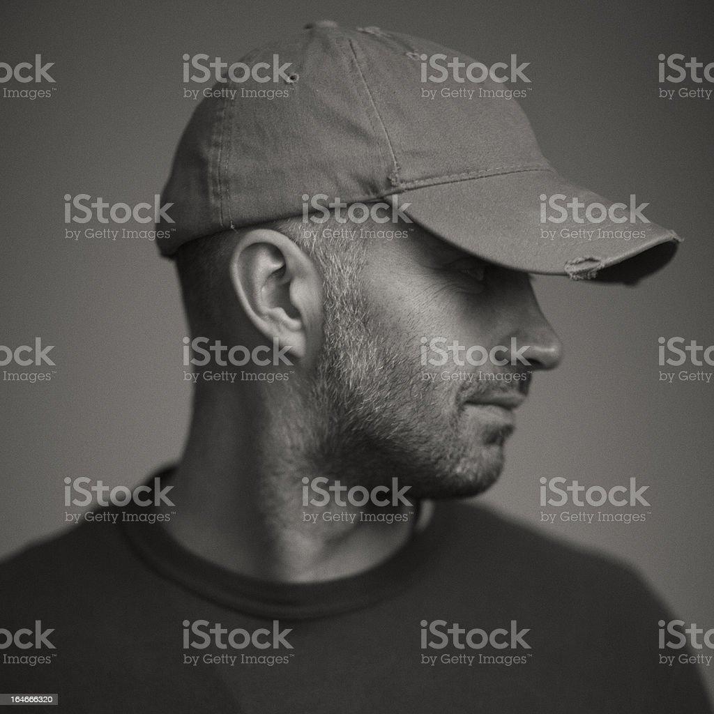Handsome men stock photo
