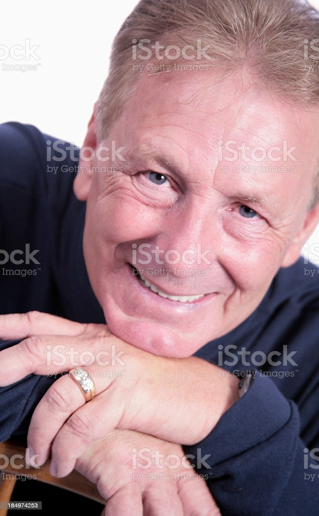 Handsome Senior royalty-free stock photo
