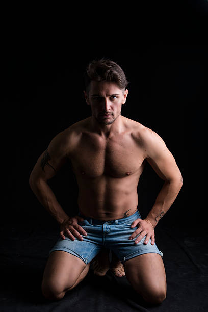 Hot Naked Muscle Men Stock Photos, Pictures & Royalty-Free