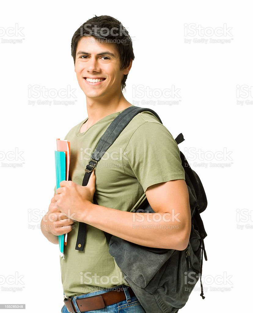 Handsome Student royalty-free stock photo