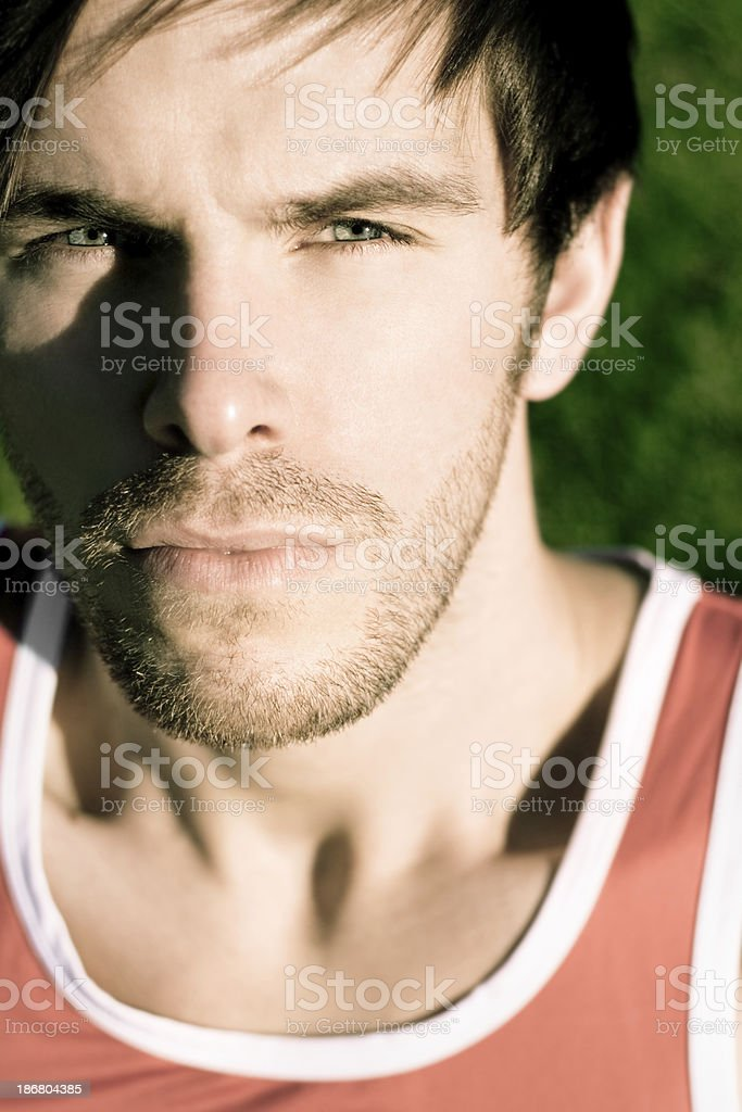 Handsome Young Guy royalty-free stock photo