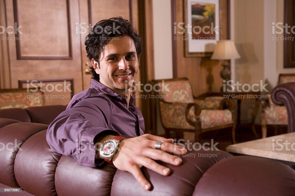 Hombre joven atractivo foto de stock libre de derechos