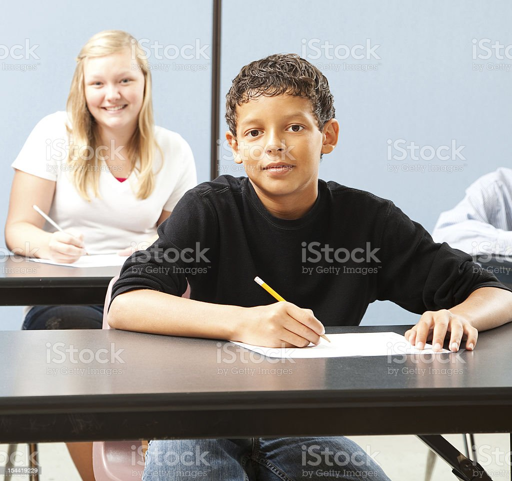 Handsome Young Student stock photo