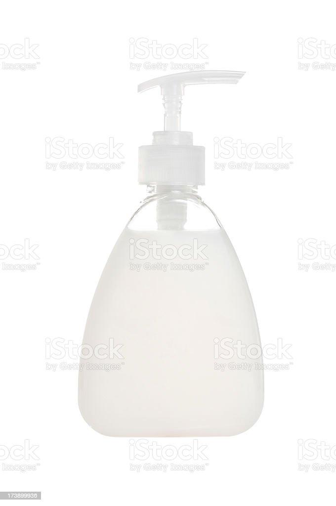 Handwash liquid in bottle royalty-free stock photo