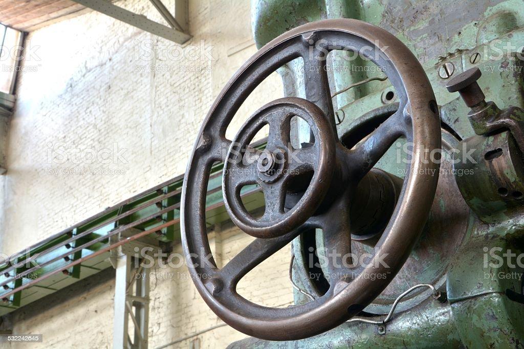 Handwheel stock photo