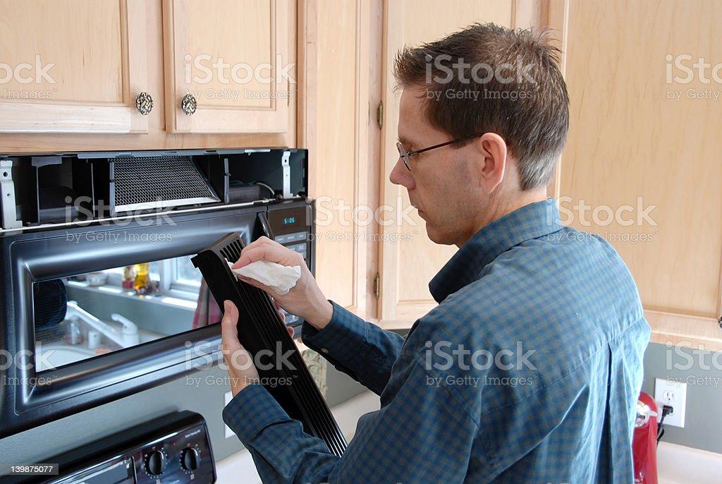 Handy Man Home Repair royalty-free stock photo