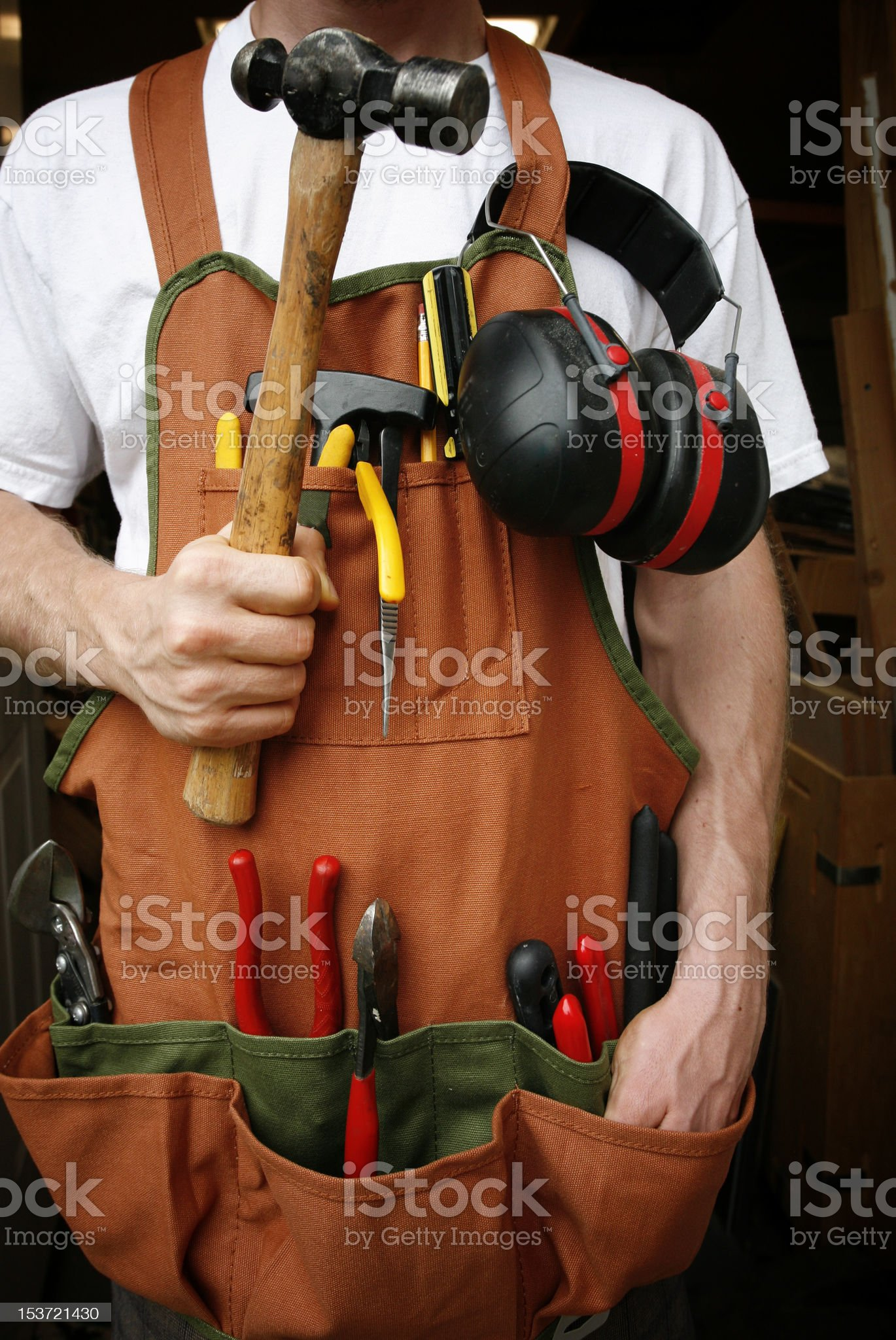 Handy man royalty-free stock photo