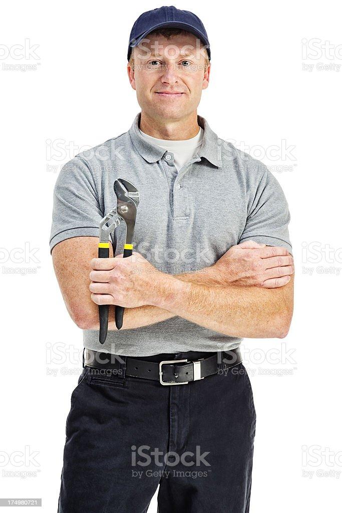 Handy Man stock photo