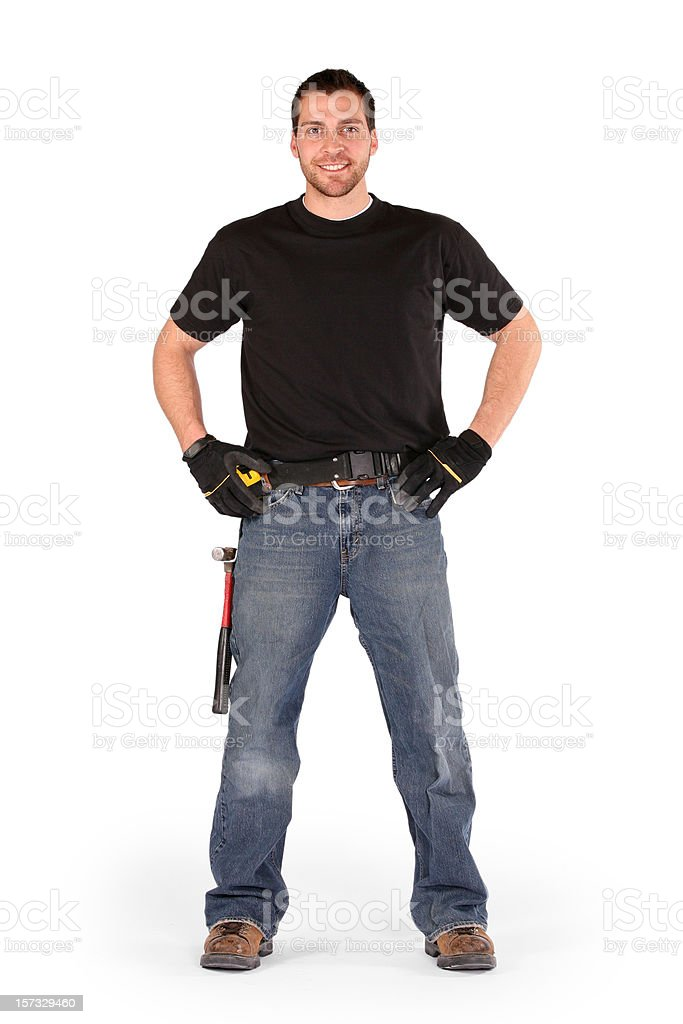 Handy Man Series royalty-free stock photo