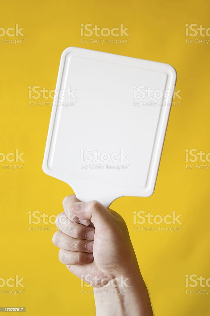 Handy Sign royalty-free stock photo