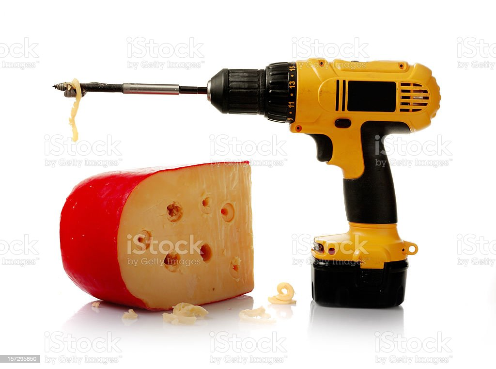 handyman emmental royalty-free stock photo
