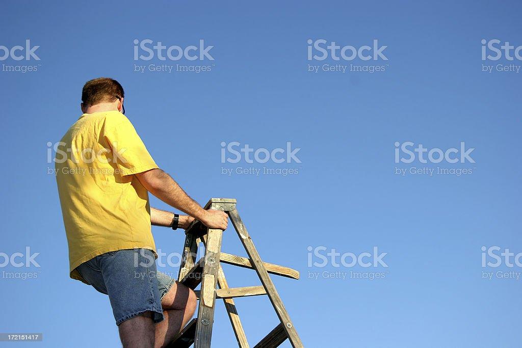Handyman II stock photo