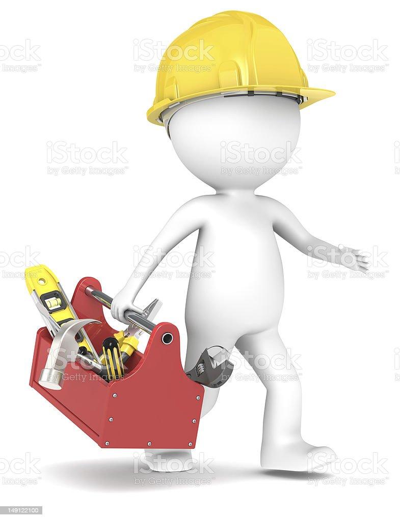 Handyman. royalty-free stock photo