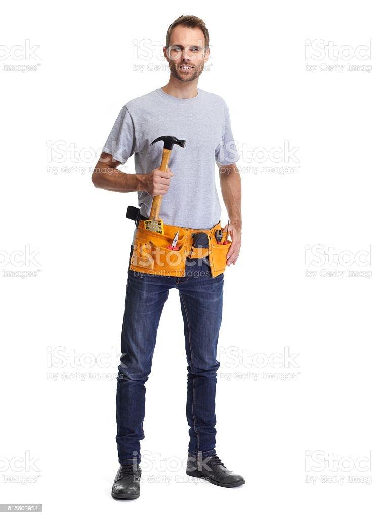 Handyman. stock photo
