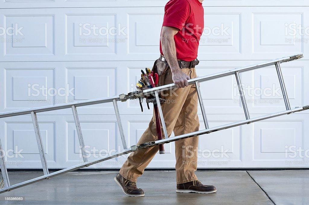 Handyman Working royalty-free stock photo