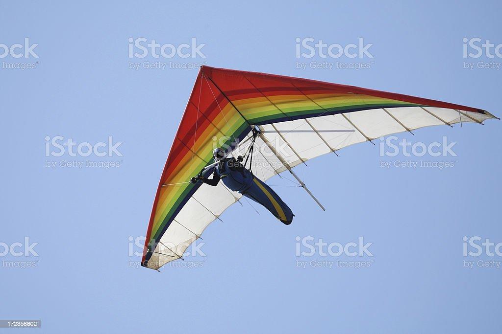 Hang Glide stock photo