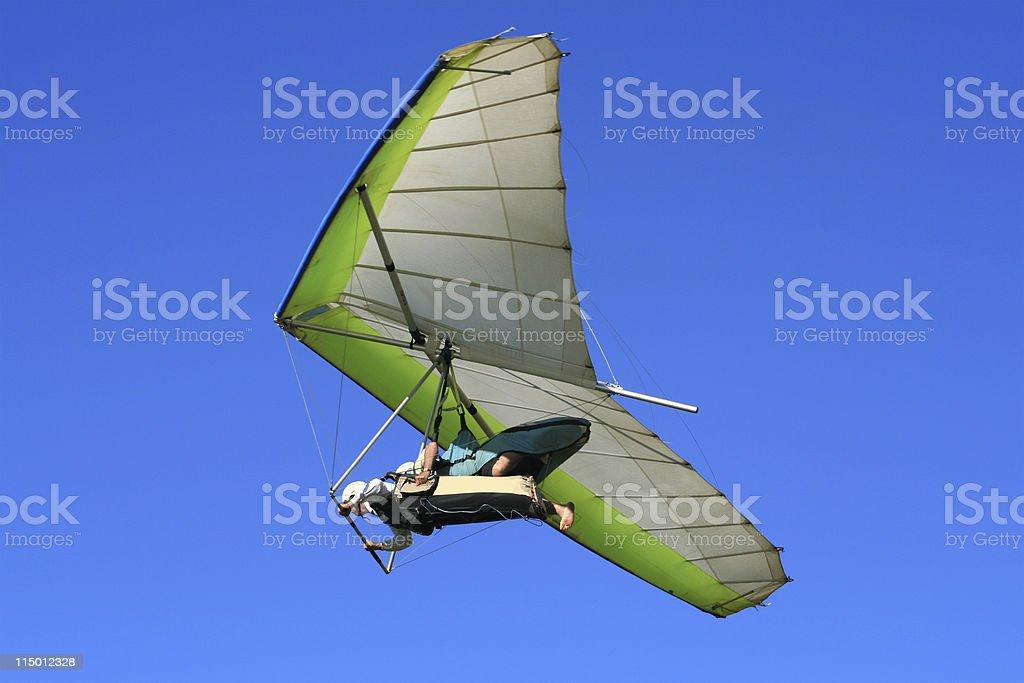 Hang Gliding stock photo