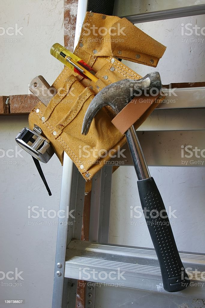 Hang up your tools royalty-free stock photo