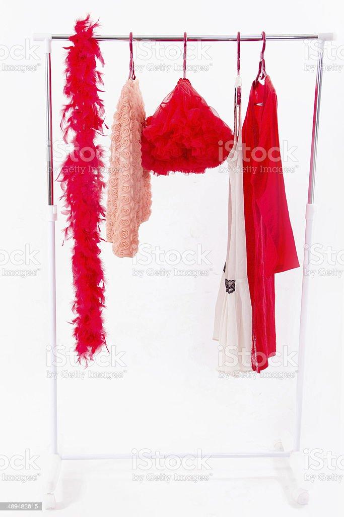 Hanger stock photo