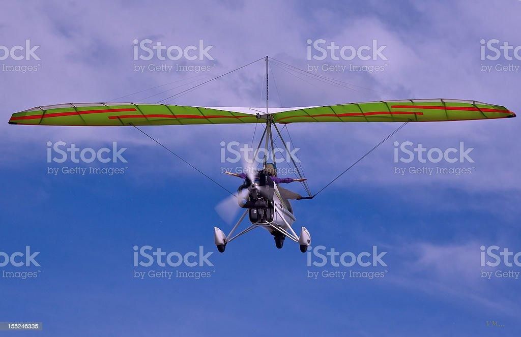 Hang-glider royalty-free stock photo