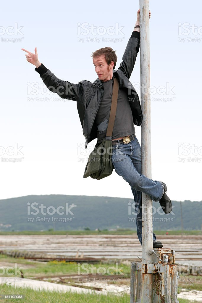 Hangin' around. stock photo