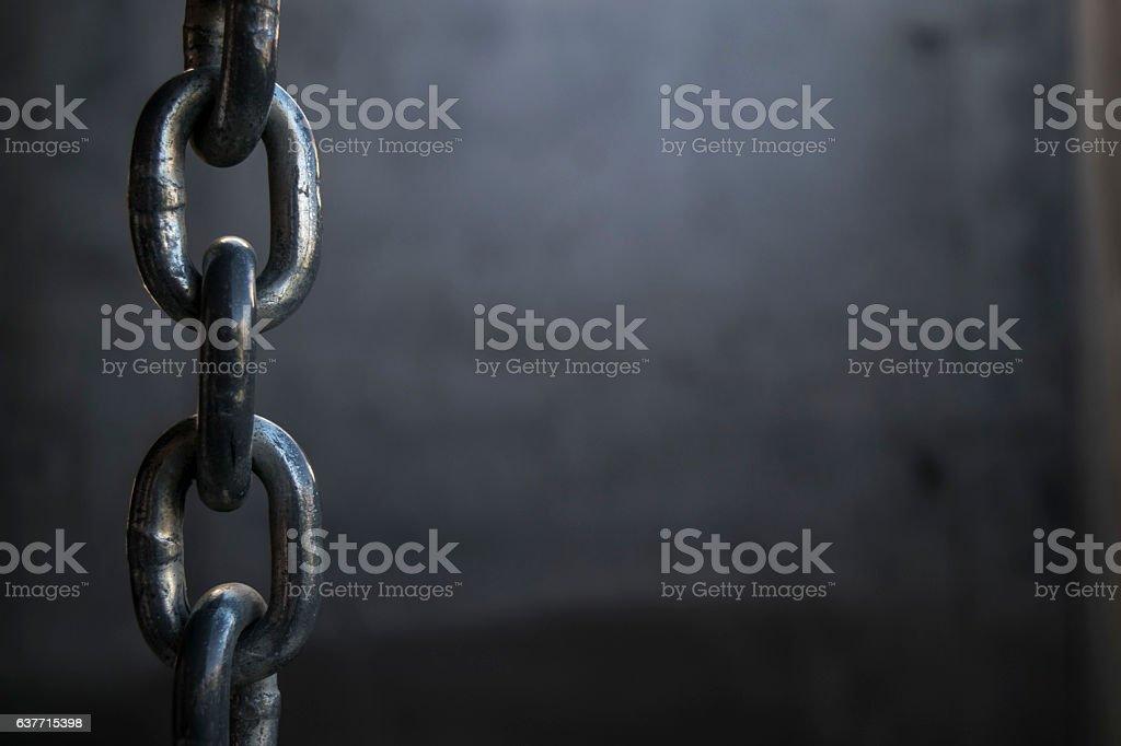 Hanging Chain stock photo