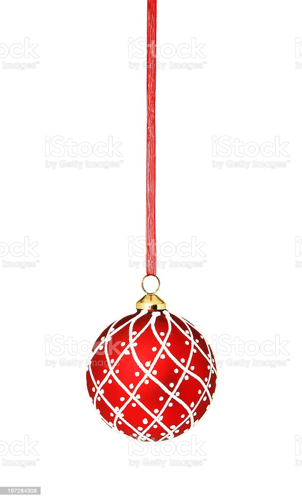 Hanging Christmas Ornament royalty-free stock photo