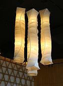 hanging elegant lamp