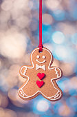 Hanging Gingerbread cookie