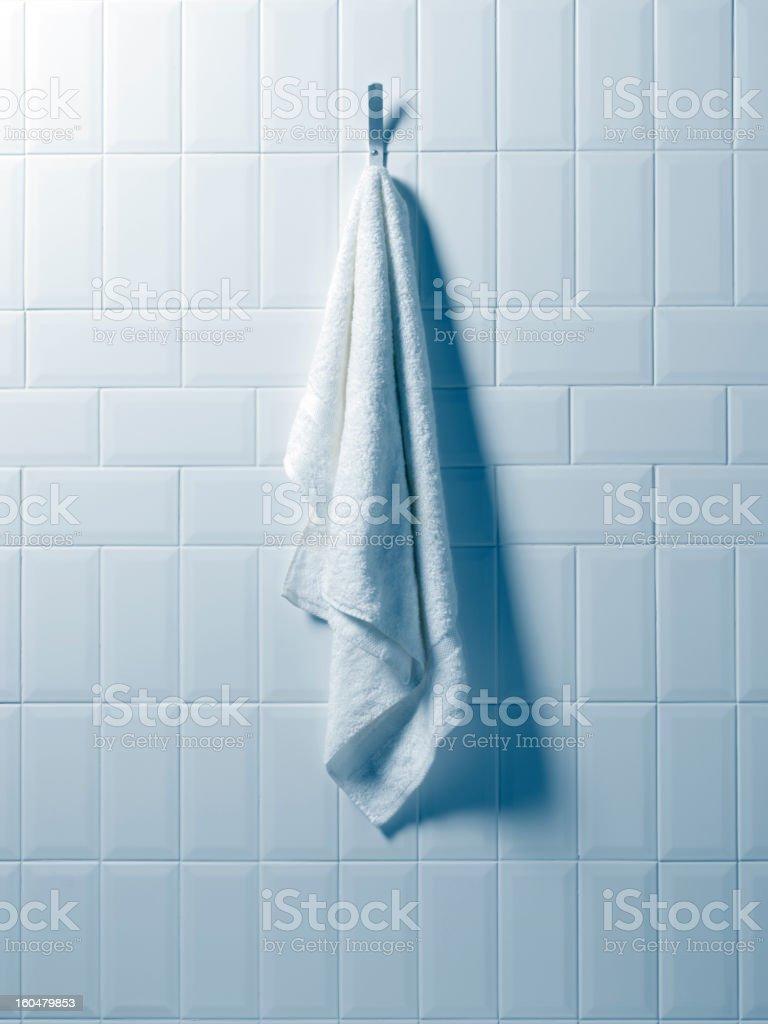 Hanging Hand Towel royalty-free stock photo