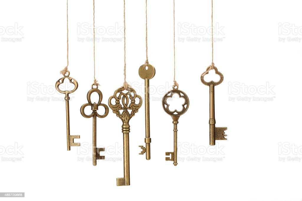 Hanging Keys stock photo