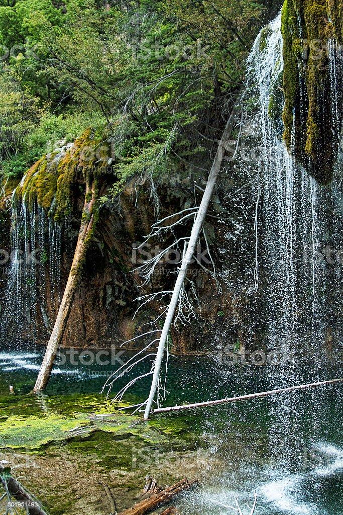 Hanging Lake 9 stock photo