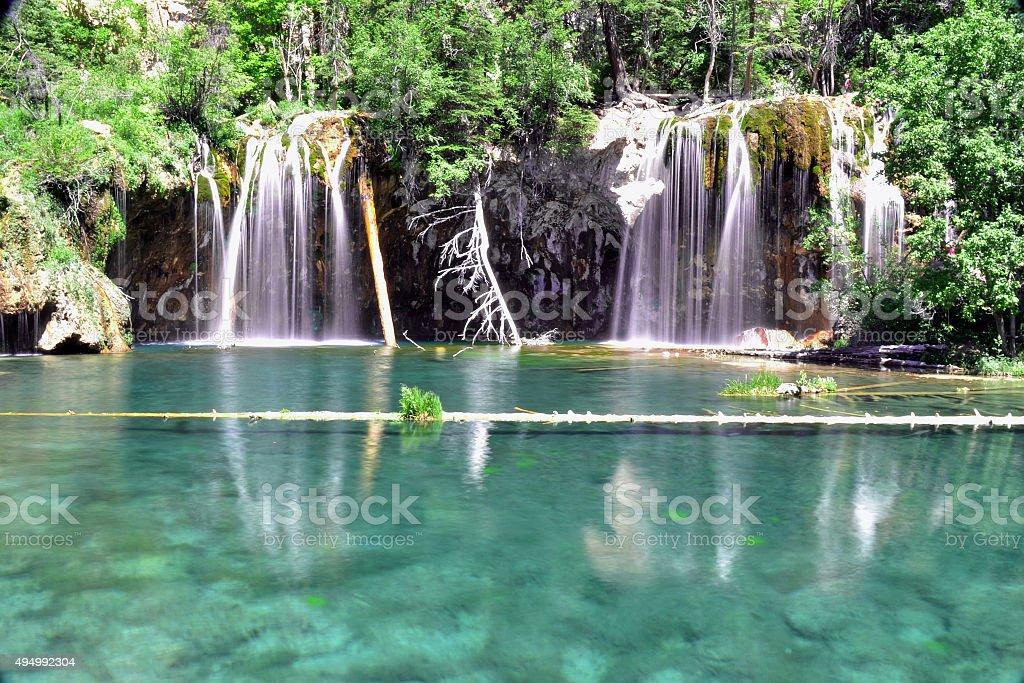 Hanging Lake stock photo