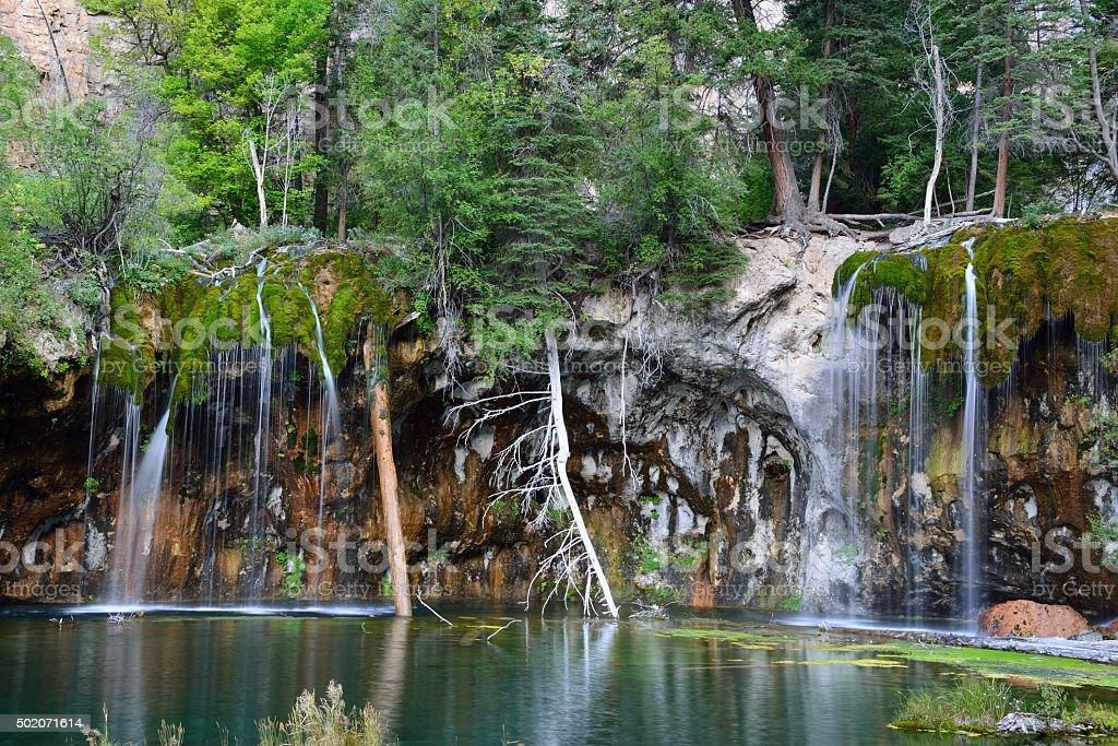 Hanging Lake Scenic Landscape stock photo